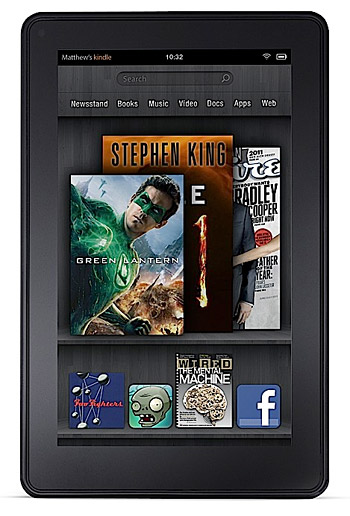 Amazon Kindle Fire at werd.com