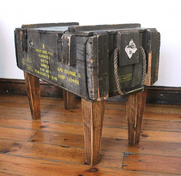 Ammo Crate Sidetable at werd.com