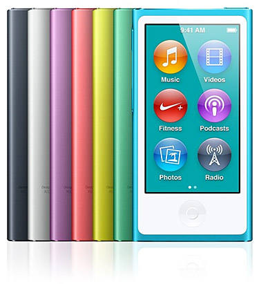Apple iPod nano at werd.com