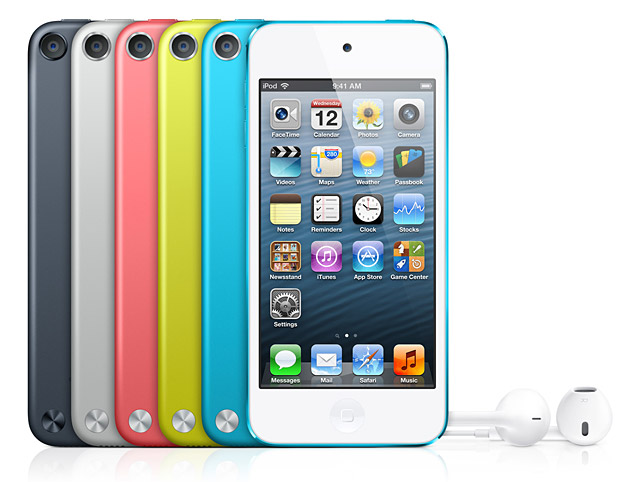Apple iPod touch 5 at werd.com