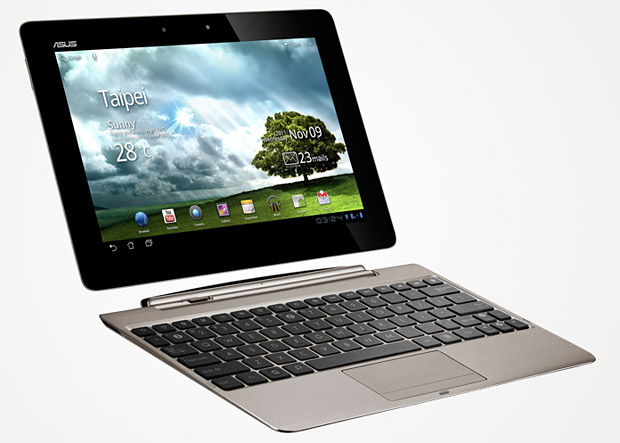 The Asus Eee Pad Transformer Prime at werd.com