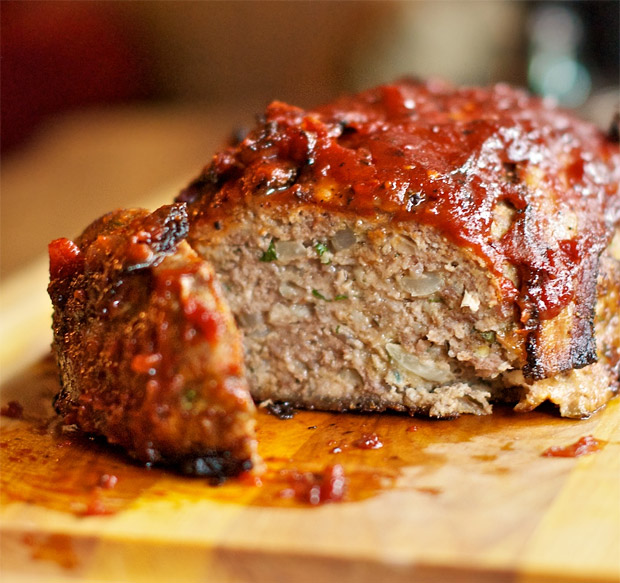 Bacon BBQ Meatloaf at werd.com