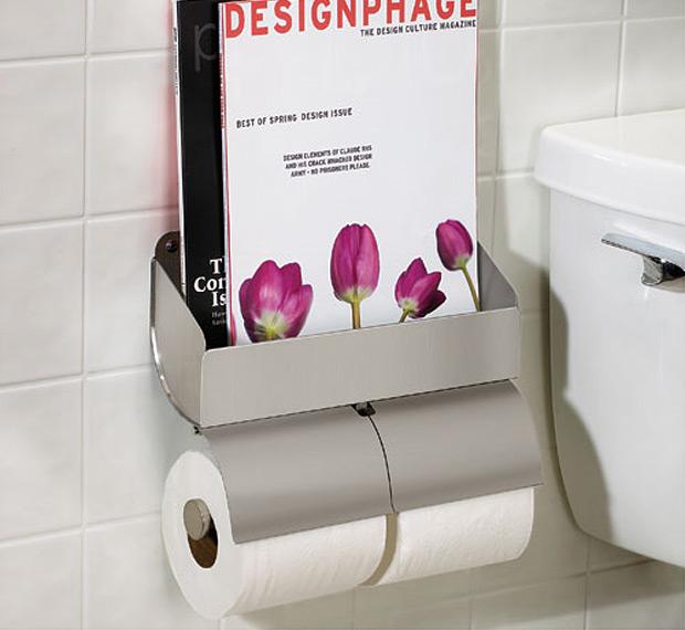 Bathmag Toilet Paper Holder at werd.com