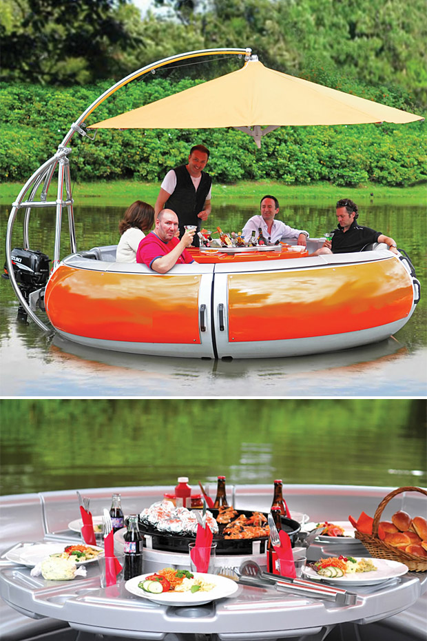 BBQ Boat at werd.com