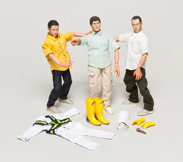 Beastie Boys Action Figures at werd.com