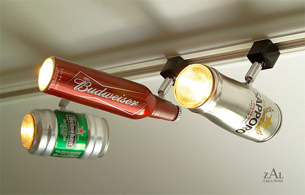 Beer Can Track Lighting at werd.com