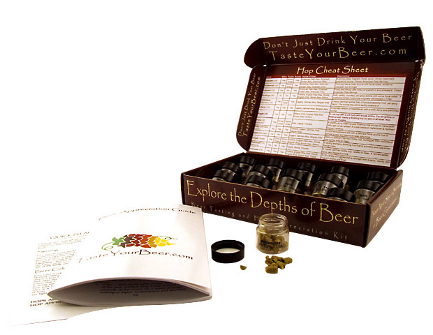 Beer Tasting and Hop Appreciation Kit at werd.com