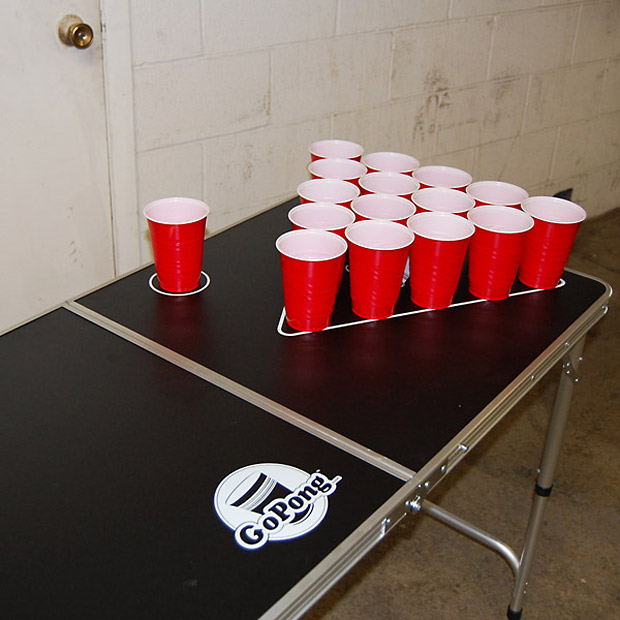 Portable Beer Pong Table at werd.com
