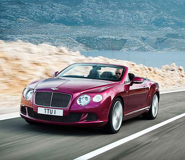 2013 Bentley Continental GT Speed Convertible at werd.com