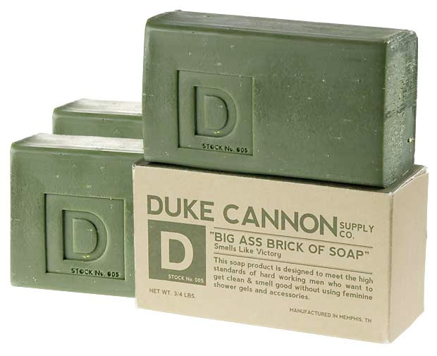 Duke Cannon's Big Ass Brick Of Soap at werd.com
