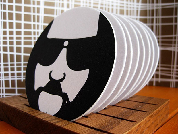 Big Lebowski Coasters at werd.com