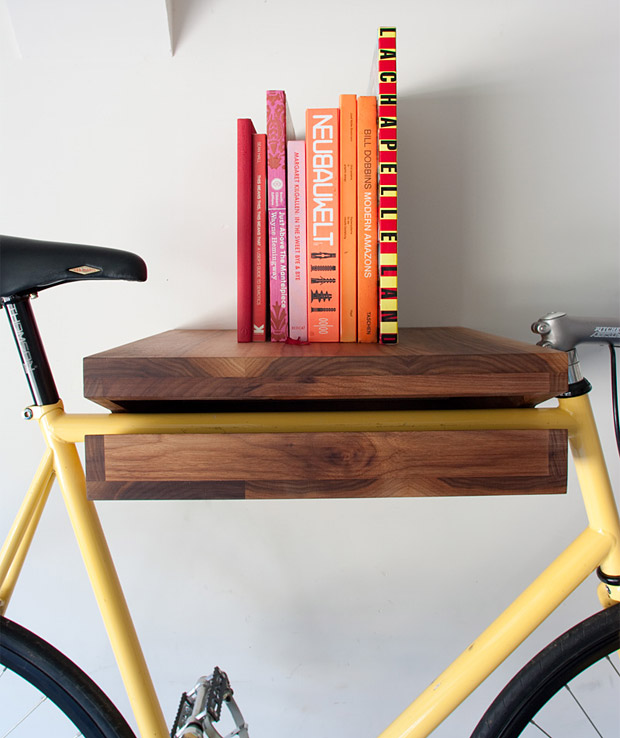 Knife &#038; Saw Bike Shelf at werd.com