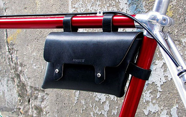 Billykirk Bike Frame Pouch at werd.com