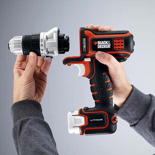 Black &#038; Decker Multi-head Matrix Modular Tool System at werd.com