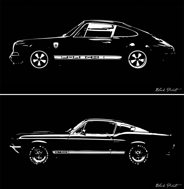 Blackprints: Car Designs Reimagined at werd.com