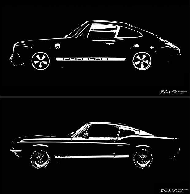 Blackprints: Car Designs Reimagined at werd.com