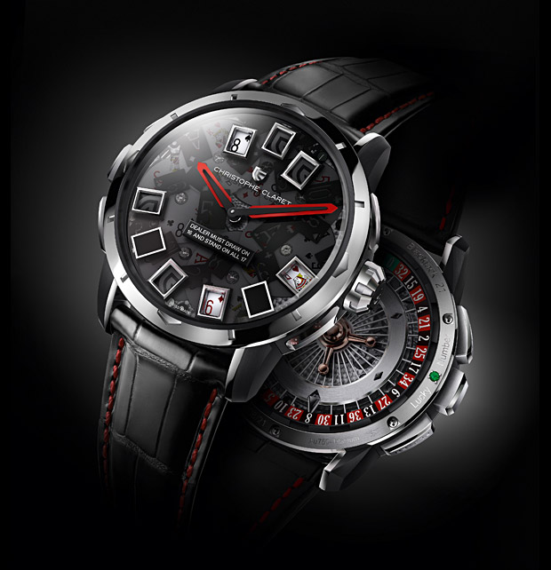 Christophe Claret 21 Blackjack Watch at werd.com