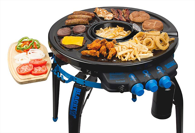 Blacktop 360 Grill-Fryer at werd.com