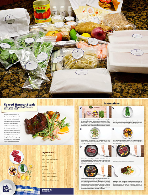 Blue Apron Meal Delivery at werd.com