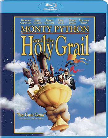 Monty Python and the Holy Grail Blu-ray at werd.com