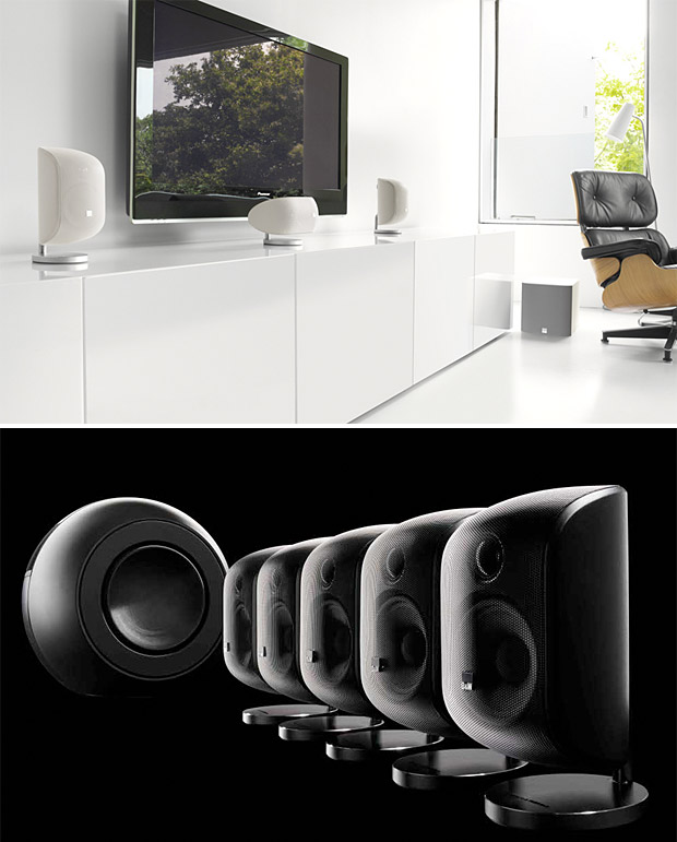 Bowers & Wilkins Mini Theater Systems at werd.com
