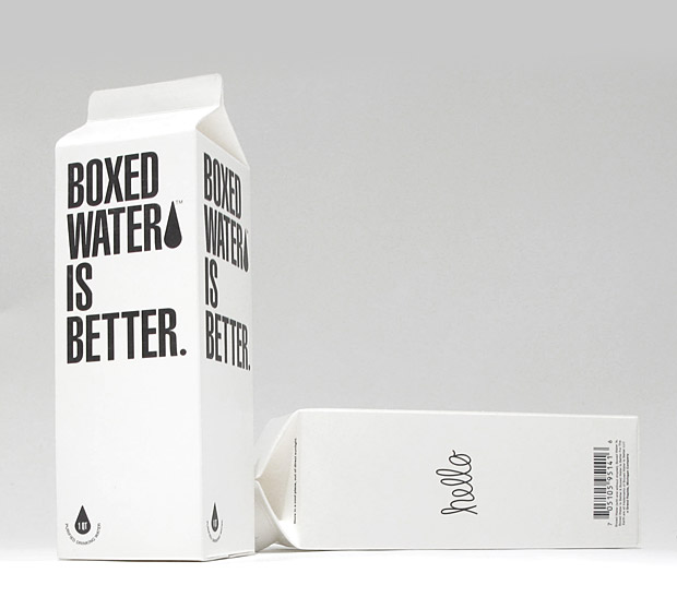Boxed Water at werd.com