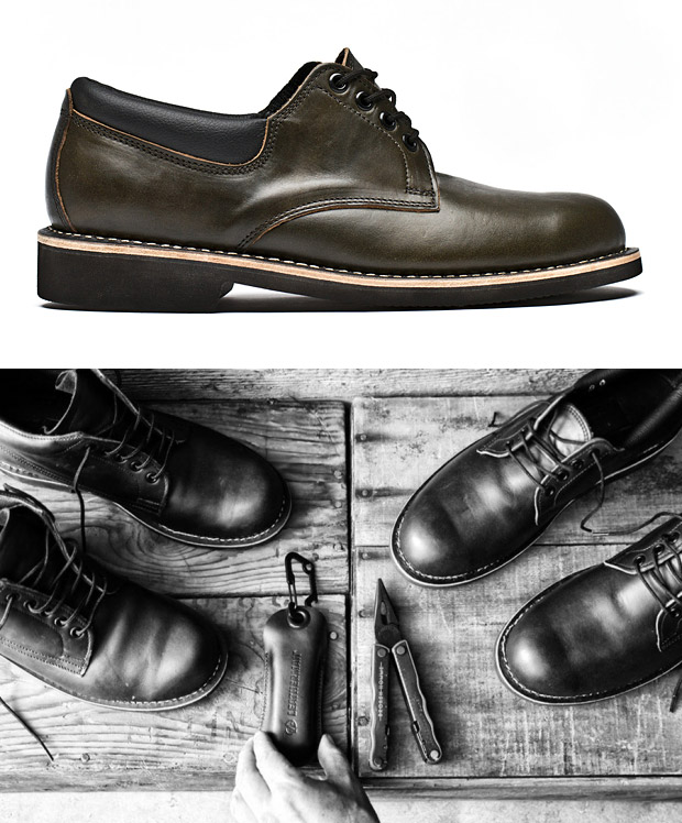 Leatherman x BROKEN HOMME Footwear at werd.com