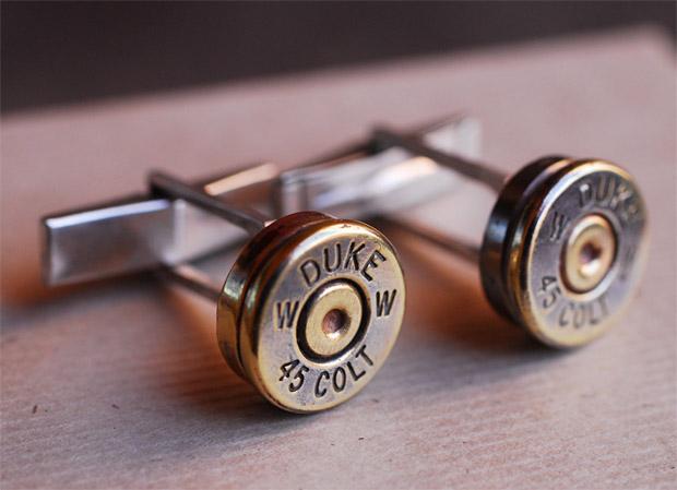 Bullet Cufflinks at werd.com