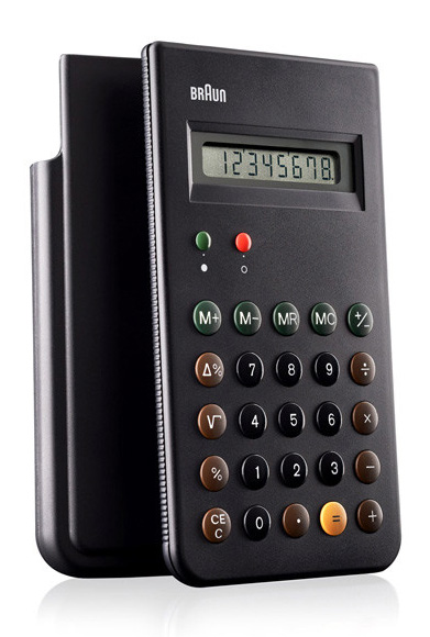 Classic Braun ET66 Calculator at werd.com