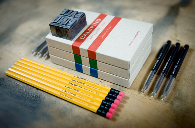 Calepino Panoplie Writing Kit at werd.com