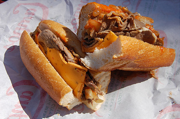 Campo&#8217;s Philly Cheese Steak Sandwich at werd.com