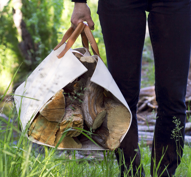 Winter Session x CampWell Log Tote at werd.com
