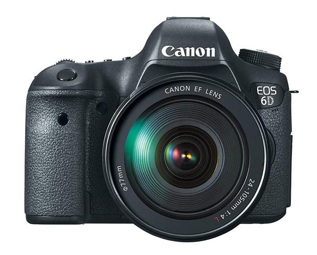 Canon EOS 6D at werd.com