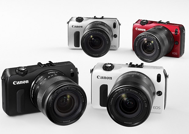 Canon EOS M Digital Mirrorless Camera at werd.com