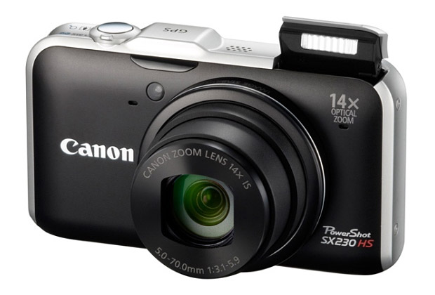 Canon PowerShot SX230 HS at werd.com