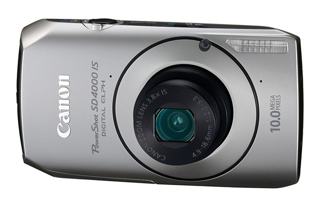 Canon PowerShot SD4000 IS Digital Elph at werd.com