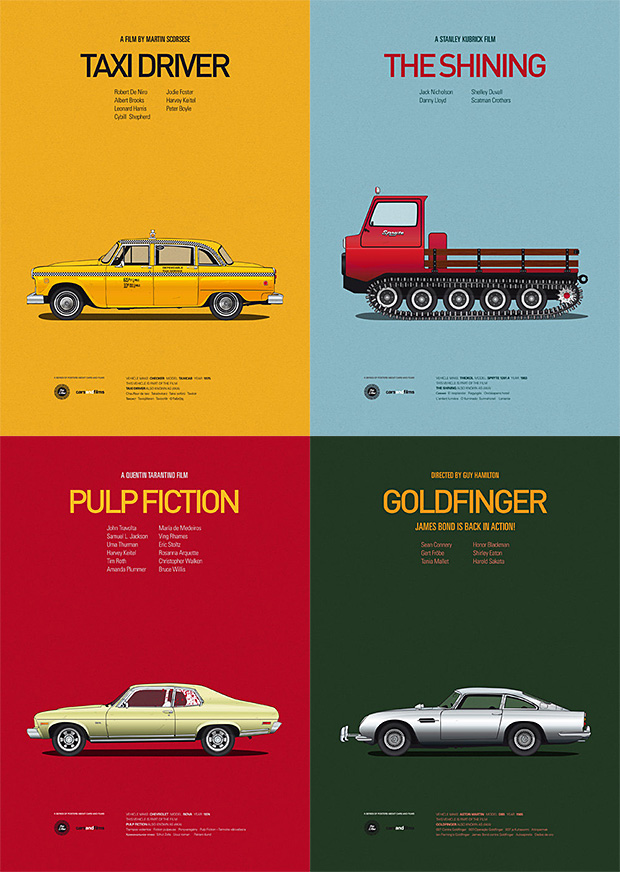 Cars and Films Prints at werd.com