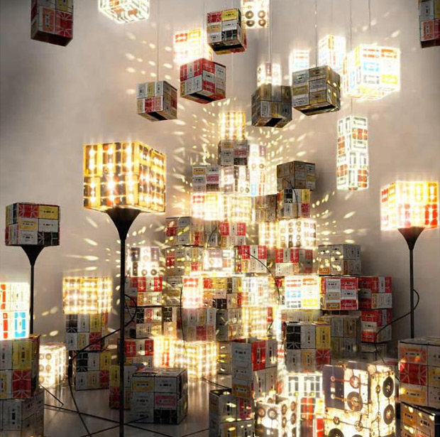 Cassette Tape Floor Lamp at werd.com