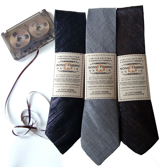 Recycled Cassette Tape Necktie at werd.com