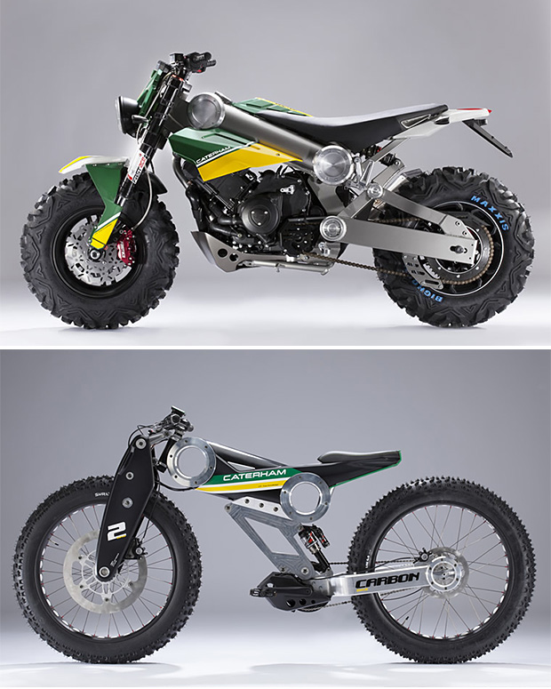 Caterham Bikes at werd.com