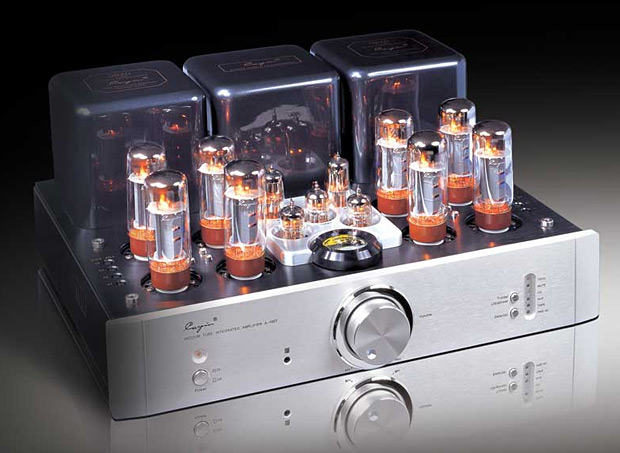 Cayin A-100T Integrated Amp at werd.com