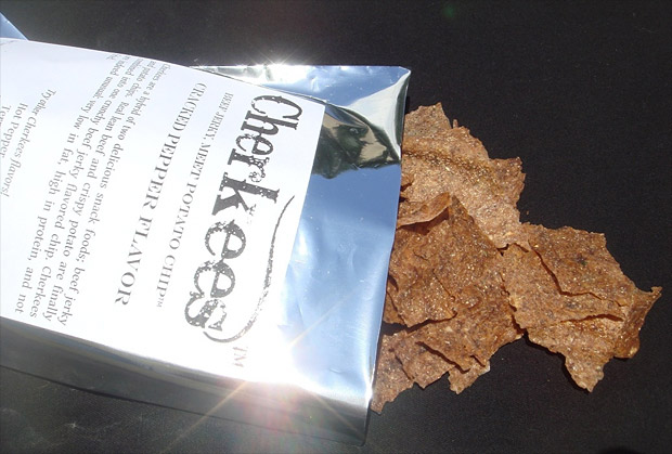 Cherkees Beef Jerky Potato Chips at werd.com