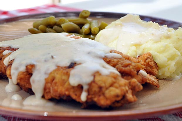 Chicken Fried Steak with Country Gravy at werd.com
