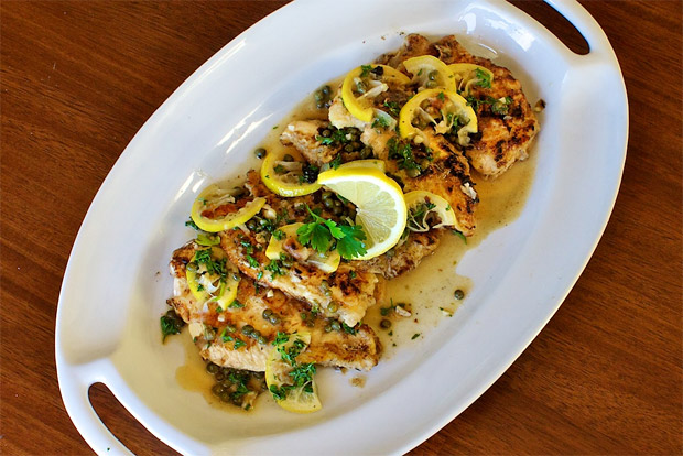 Chicken Picatta at werd.com
