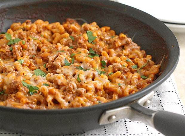 Cheesy Chili Mac at werd.com
