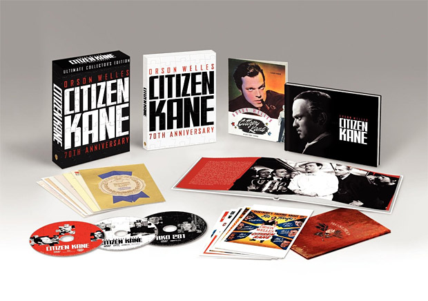 Citizen Kane 70th Anniversary Ultimate Collector's Edition at werd.com