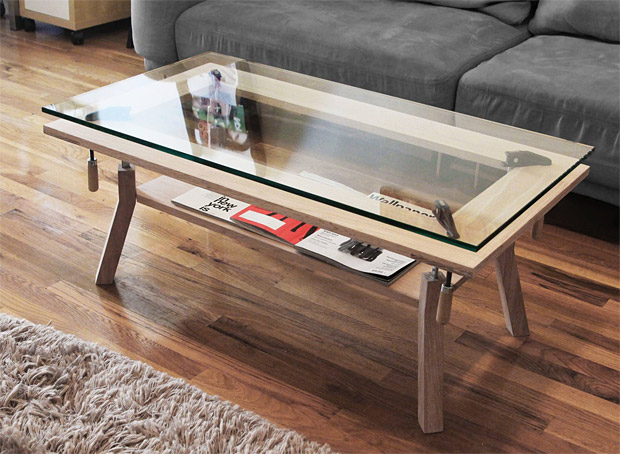 Clamp Coffee Table at werd.com