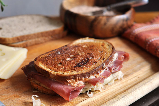 Classic Reuben at werd.com