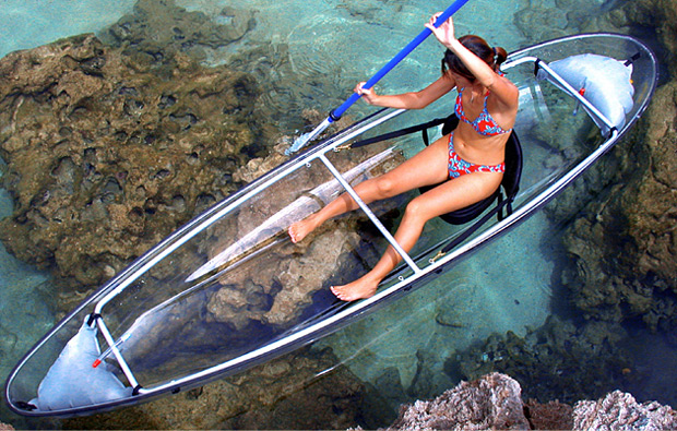 See Through Canoe at werd.com