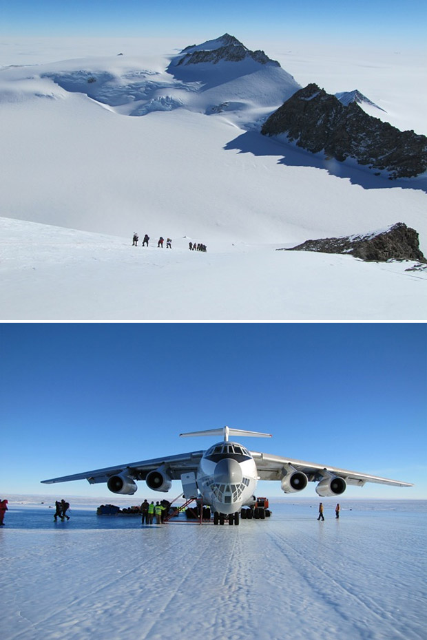 Climb Vinson-Massif in Antarctica with RMI Expeditions at werd.com
